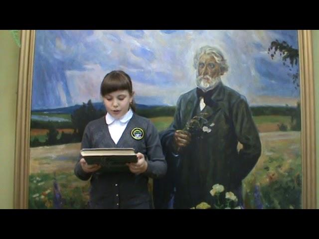 Изображение предпросмотра прочтения – АннаКарнаухова читает произведение «Стихотворения в прозе. Воробей.» И.С.Тургенева