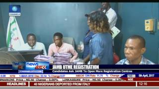 Candidates Ask JAMB To Open More Registration Centres