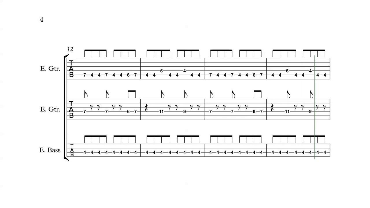 Guitar Tabs Penetration