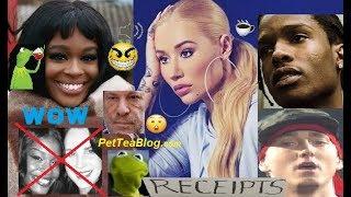 Azealia Banks Rekindles Iggy Azalea Beef, DRAGS Lana Del Rey, Asap Rocky & Eminem ☕ (Video)