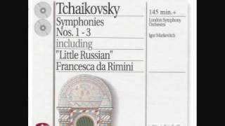 マルケヴィチ指揮ロンドン交響楽団 チャイコフスキー交響曲第3番「ポー...