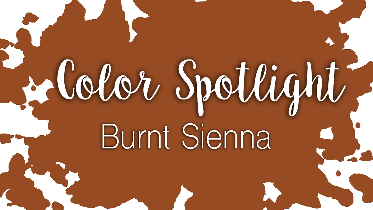 What Color Is Sienna >> Color Spotlight Burnt Sienna Watercolor Color Profile
