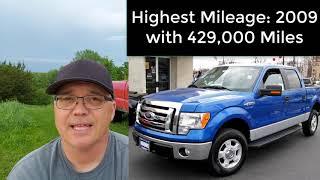 Top 10 Trucks That Last 300,000 Miles (Half-Ton)
