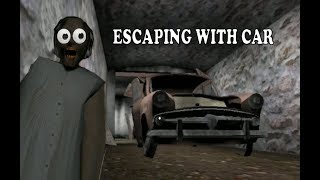 (Granny)How to  Escape by car || New update||