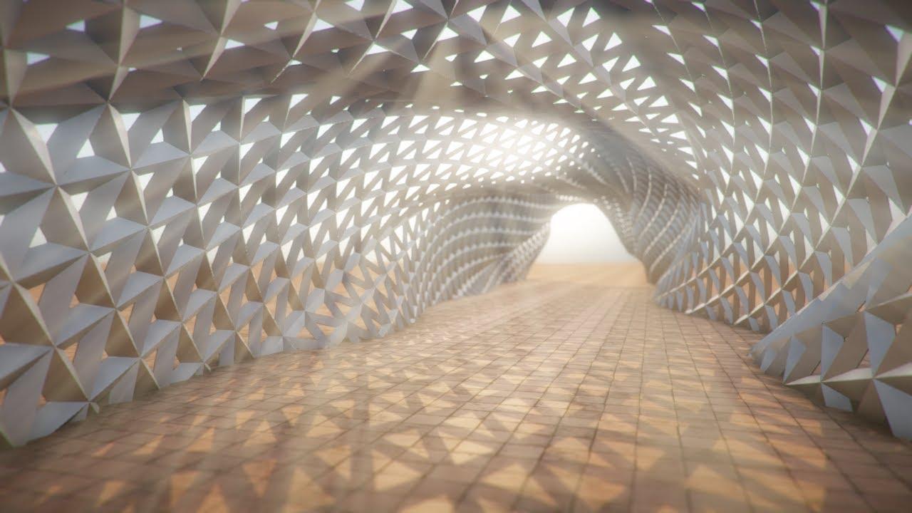 Parametric Walkway Flythrough Youtube