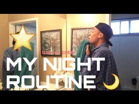 MY NIGHT ROUTINE! - YouTube