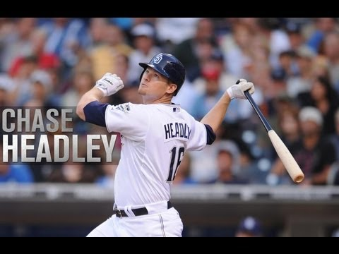 Chase Headley 2012 Highlights