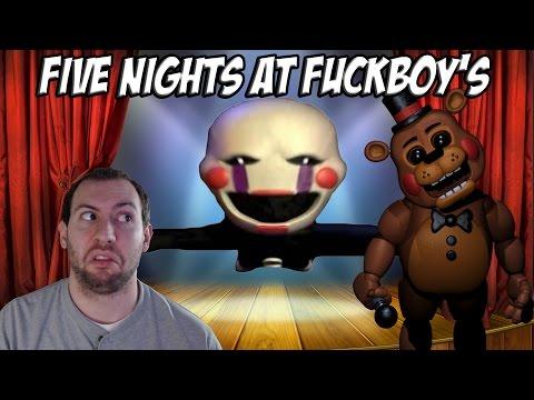 Five Nights At Fuckboy's Part 5: MARIONETTE ATTACKS!!!!