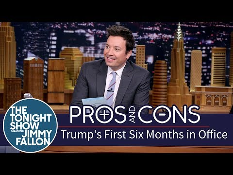 Thumbnail: Pros and Cons: Trump's First Six Months in Office