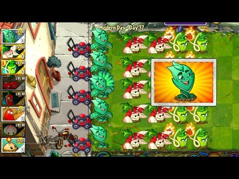 Plants vs Zombies 2 Mint vs Grass Plants in Plantas Contra Zombies 2 Fan Made Video