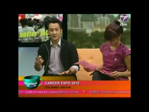 NTV7 Breakfast Show - JobsDB Career Expo 2010 Part 02