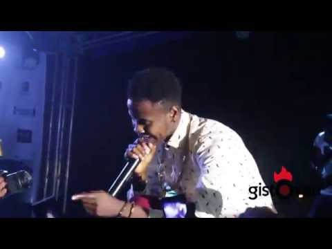 kiss Daniel at Davido and friends concert