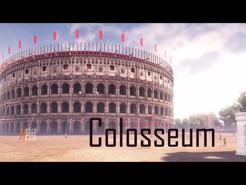 why colosseum build in Hindi