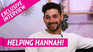 Alan Bersten: How Hannah's Visit With Peter Affected Her 'DWTS' Experience