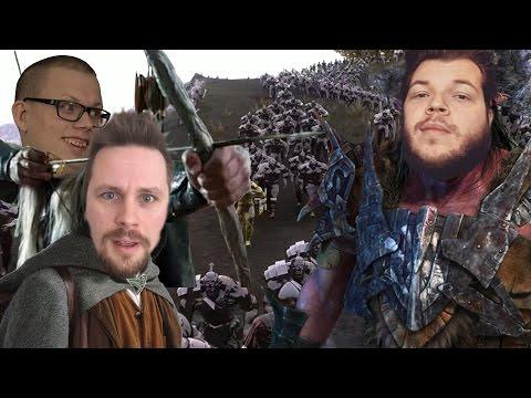 Sagan om Ringen med Zombies | Ultimate Epic Battle Simulator #2
