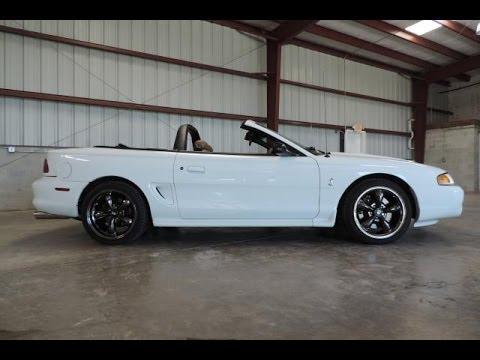 1998 Mustang Svt Cobra Super Clean Sold