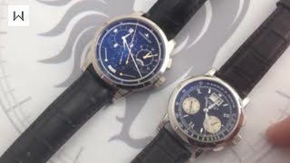 Compared: Jaeger-LeCoultre Duometre a Chronographe Versus A. Lange & Sohne Datograph