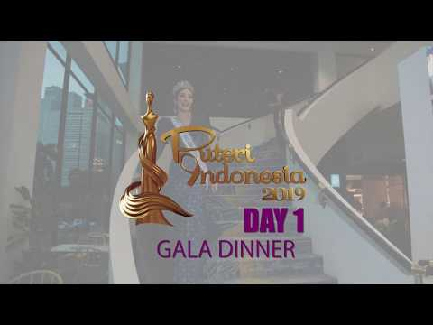 DAY 1 Karantina Puteri Indonesia 2019 - Gala Dinner