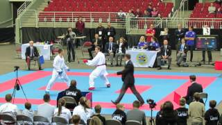 Latvia Open 2016 , FINAL OPEN MALE, Arkania Gogita Vs Ruslans Sadikovs
