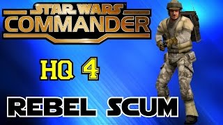 STAR WARS COMMANDER HQ4▐ Trying to 3 Star ALL Chapter Missions!