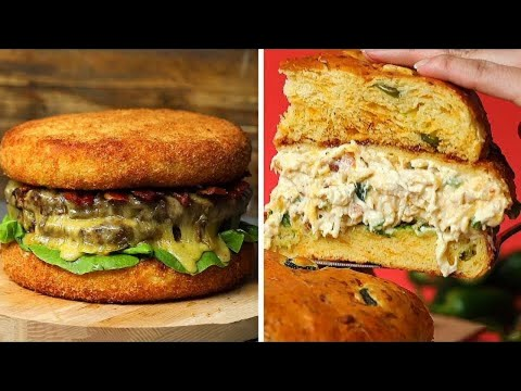 Giant Recipes For Anyone Who Loves Burgers Lunch Videos