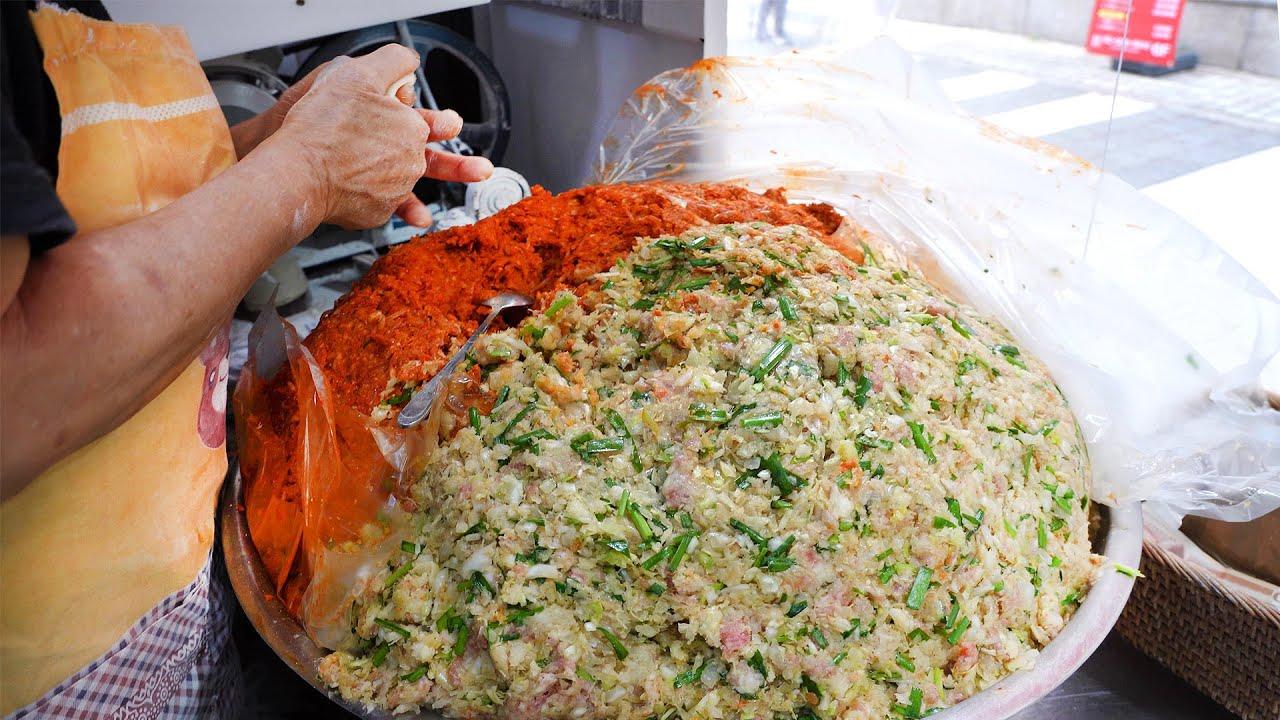 예약이 꽉차서 먹기힘든 할머니 만두? 1평짜리 가판에서 대박난 인생만두집┃A lovely grandmother's handmade dumpling-Korean street