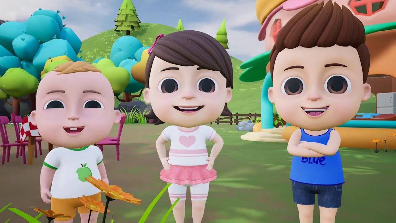 Colors Song - Nursery Rhymes & Kids Songs