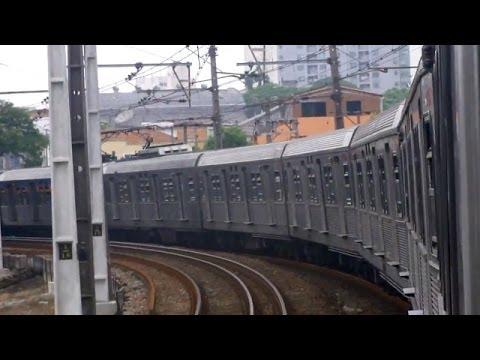Open Window on Regional Train in Sao Paulo, Brazil