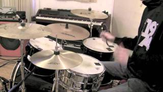How To Play Hysteria by Muse on Drums - The Drum Ninja - Lesson