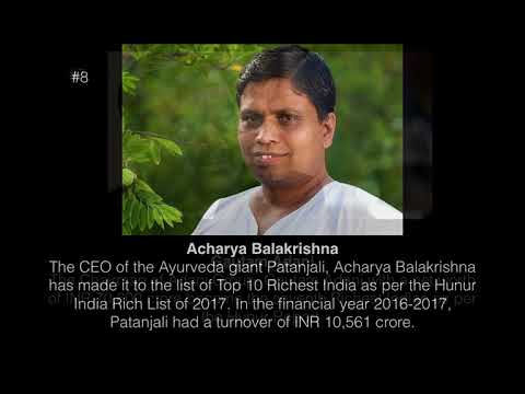 Latest list of Richest Indian and Net Worth in INR || Top 10 Richest people in india Latest