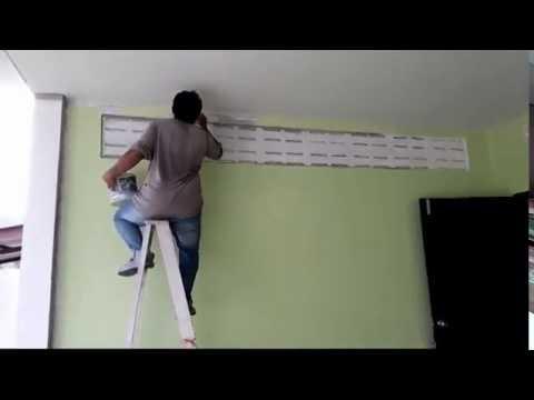 เทคนิตการทาสีบ้าน
