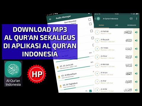 Cara Download Audio Al Quran Di Aplikasi Al Quran Indonesia Full