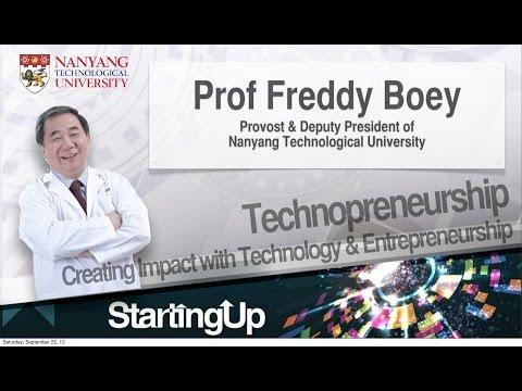 [ideas.inc. 2012 Keynote] Prof Freddy Boey - Creating an Impact with Technology & Entrepreneurship