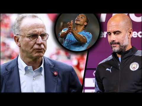Wegen Leroy Sané: Bayern-Boss Karl-Heinz Rummenigge kontert Pep Guardiola