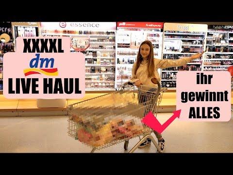 Was kauft eine 11 jährige bei dm 😱 ? XXL dm Live Haul 💸 + Ihr gewinnt alles l Sara Desideria