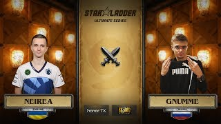 Neirea vs Gnumme, StarLadder Hearthstone Ultimate Series