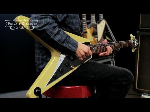 Gibson Custom 2018 Mahogany TV Flying V Electric Guitar