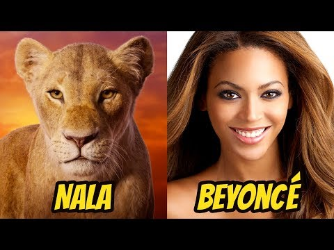 The Lion King 2019 Actors Behind The Voices Disney Movie Youtube