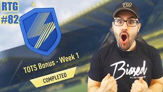 OUR FIRST TOTS CARD EVER!!!!! Road To Fut Champions FIFA 17 #82
