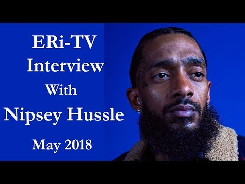 ERi-TV: Interview with Nipsey Hussle  Eritrean-American Recording Artist & Entrepreneur