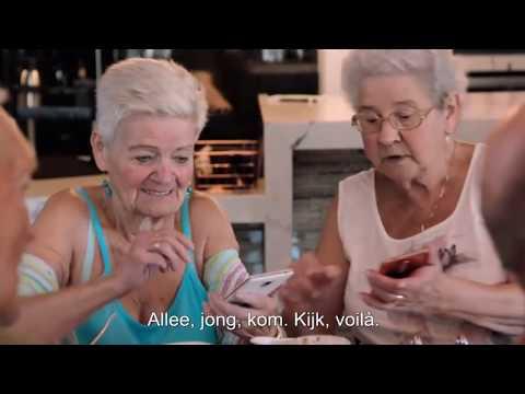 80-JARIGEN KRIJGEN SMARTPHONES IN DALLAS || DE WERELD ROND MET 80-JARIGEN