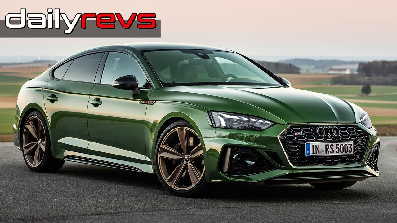 2020 Audi RS 5 Sportback | Sonoma Green | Driving & Design | Start Up | Exhaust Sounds