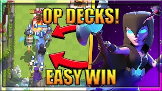 Best Night Witch Decks For Arena 8-11 NEW Legendary Decks To Help You Climb the Ladder Strategy