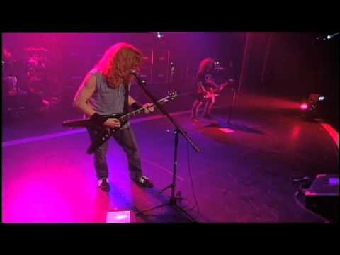 Megadeth - Burning Bridges - Live - Rude Awakening