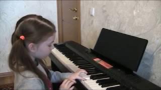 Хомяк Полина уроки игры на фортепиано с детьми