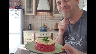 Убойный салат из свеклы для похудения.