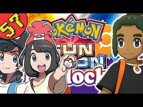 Pokemon Sun and Moon Multiplayer Nuzlocke Part 57 - VS Hau & Alolan Raichu Rival Battle!