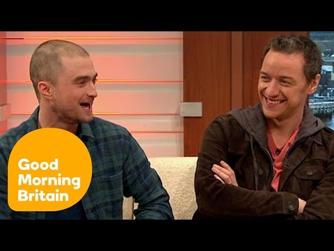 Daniel Radcliffe And James McAvoy Interview On Victor Frankenstein | Good Morning Britain