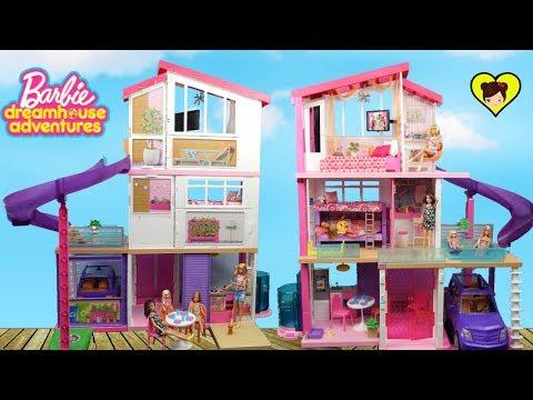 Nueva Casa de Barbie con Literas y Piscina - Dreamhouse Adventures