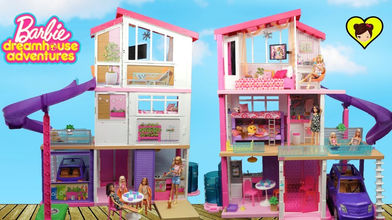 Nueva Casa De Barbie Con Literas Y Piscina Dreamhouse Adventures